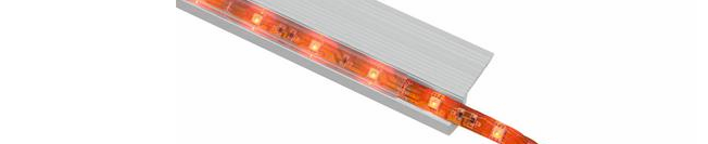 Aluminium profiles to led strip