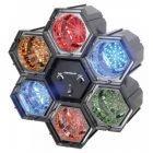 BEAMZ LED-6-kanavainen LED-valourku