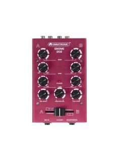 OMNITRONIC GNOME-202 Mini mixer - Punainen