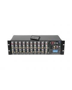 OMNITRONIC RM-1422FX USB Räkkimikseri