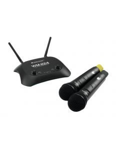 OMNITRONIC WM-224 langaton tupla mikrofonijärjestelmä