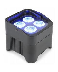 BEAMZ BBP94 4x10W RGBAW-UV akkukäyttöinen valonheitin