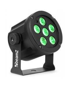 BeamZ SlimPar 30 6x 3W RGB 3-in1 LEDs sekä kaukosäädin