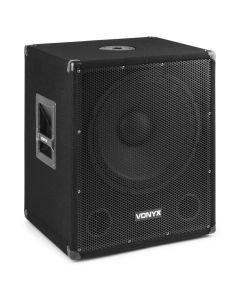 VONYX SMWBA15 Bi-AMP aktiivisubwoofer BT