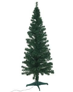 EUROPALMS 180cm Joulukuusi kuituoptiikalla