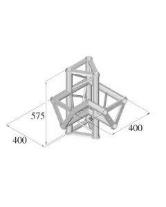 ALUTRUSS TRISYSTEM 4-tie risteyspala / l+h PAC-45
