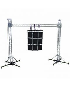 ALUTRUSS Tower System II, 4-Point trussing tower