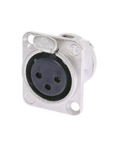 NEUTRIK NC3FD-LX, 3-pole XLR female receptacle