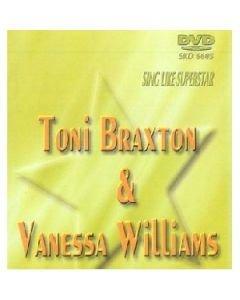 POISTO Superstar karaoke DVD Toni Braxton& Vanessa