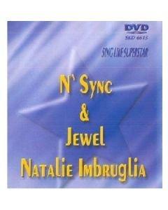 POISTO Superstar karaoke DVD N'Sync & Jewel &
