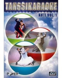 POWER Kotikaraoke Vol11 DVD levyllä kappaleet 1
