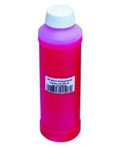 EUROLITE UV-aktiivinen neste 250ml punainen on