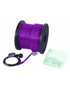 EUROLITE RUBBERLIGHT RL1-230V violet, violetti