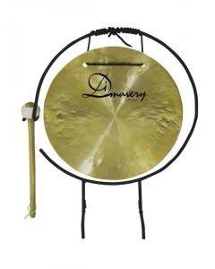 DIMAVERY 25cm Gongi telineellä ja nuijalla
