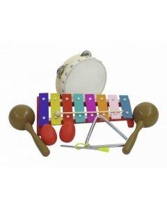 DIMAVERY Lasten percussion rytmisetti 7-osainen