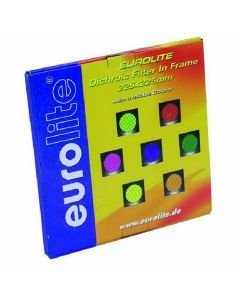EUROLITE Orange dichroic filter silver frame