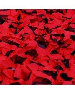 EUROPALMS Naamiointiverkko punainen 6x3m
