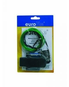 EUROLITE Valonauha EL wire 2mm paksu vihreä 0n