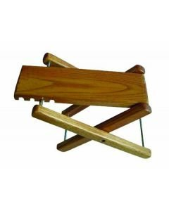 DIMAVERY Footstool for guitar, wood