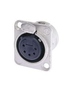 NEUTRIK NC5FD-L-1, 5-pole XLR female receptacle