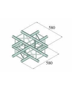 ALUTRUSS DECOLOCK 4-tie risteyspala DQ4-PAC41