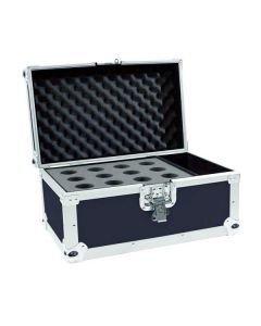 OMNITRONIC Kuljetuslaatikko 12x mikrofonille, case