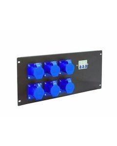 EUROLITE PDM 5U-6CEE Haaroitusrasia- ja