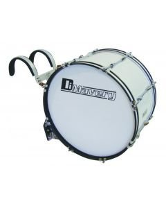 DIMAVERY MB-428 Marching Bass Drum 28x 12 white