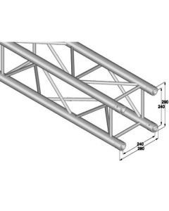 ALUTRUSS QUADLOCK QL-ET34-3000 4-way cross beam