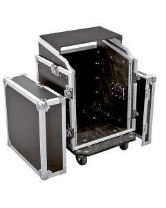 OMNITRONIC Kuljetuslaatikko Laptop-telineellä 12U