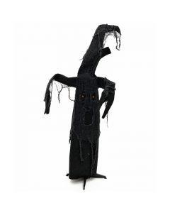 EUROPALMS Halloween aavepuu musta 110cm, animoitu