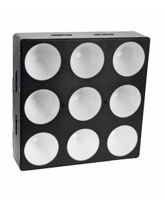 EUROLITE  CBC-3 LED-paneeli, 9x 15W COB TLC LEDiä