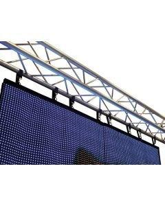 EUROLITE LED-Verho LSD-20 IP44 korkeus 2,56m x