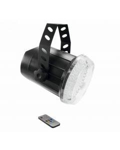 EUROLITE LED Techno Strobe 500 IR-kauko-ohjaimella