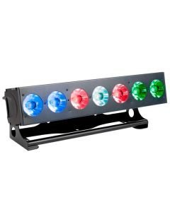 ELATION ACL LED-palkki 7x 15W RGBW-värit, optiset