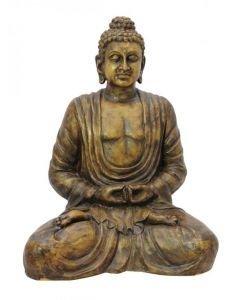 EUROPALMS Buddha patsas antiikki-kulta, korkeus