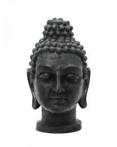 EUROPALMS Buddha patsas pää antiikki-musta