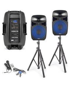 VONYX VPS152A 15 500W aktiivikaiutinjärjestelmä