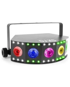 BEAMZ DJ X5 Strobe Array-valoefekti 5x 10W 4in1