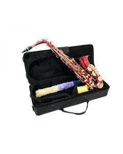 DIMAVERY SP-30 Eb Alttosaksofoni laukulla