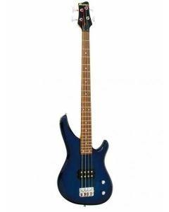 DIMAVERY SB-201 E-Bass, blueburst, Bassokitara