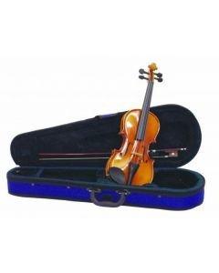 DIMAVERY Violin, Viulu 1/8 Mittainen kotelolla ja