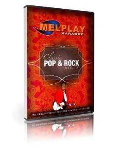 MELHOME Classic Pop & Rock Vol 3 karaoke DVD