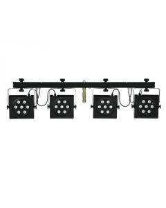 EUROLITE LED KLS-801 TCL DMX 4 spotin valosetti
