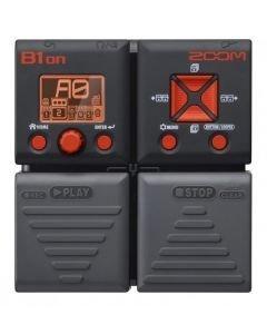 ZOOM B1on basso-moniefektilaite, 75 bassoefektiä