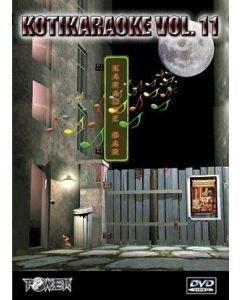 POWER Kotikaraoke Vol 11 DVD karaoke levyltä
