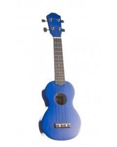 NOIR Sininen ukulele Baton Rouge Noir NU-1S