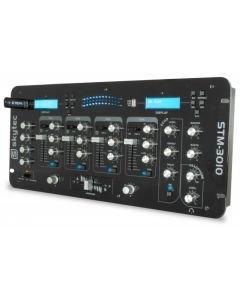 SKYTEC STM-3010 4-kanavainen DJ mikseri USB