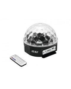 EUROLITE BC-8 MP3  LED-valoefekti MP3-soittimella
