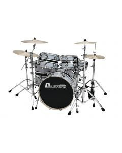 dimavery-ds-600-drum-set-taysi viisiosainen-pelleilla